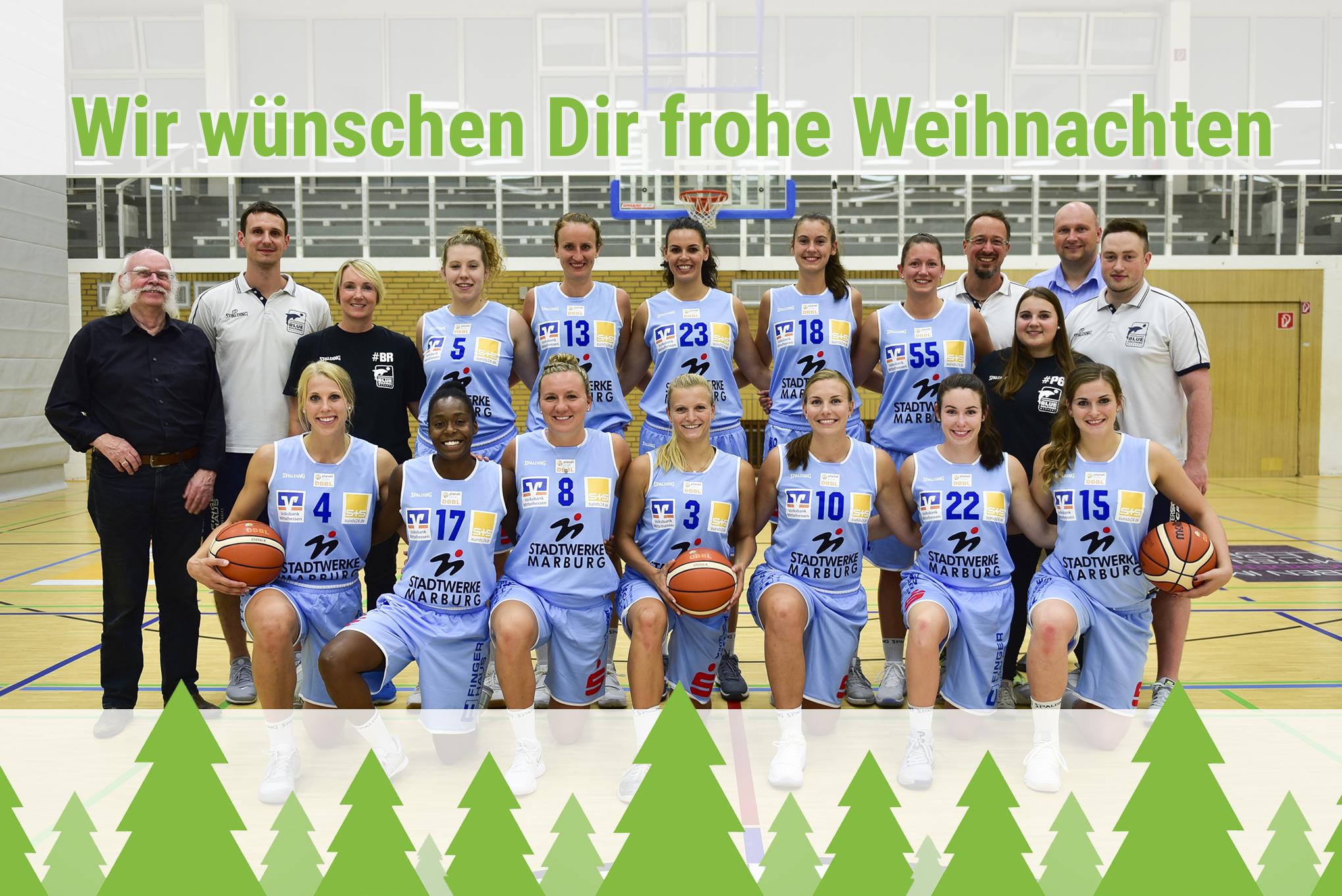 Weihnachtsgrüße Team.Dank Und Weihnachtsgrüße Bc Basketball Club Marburg E V Bc
