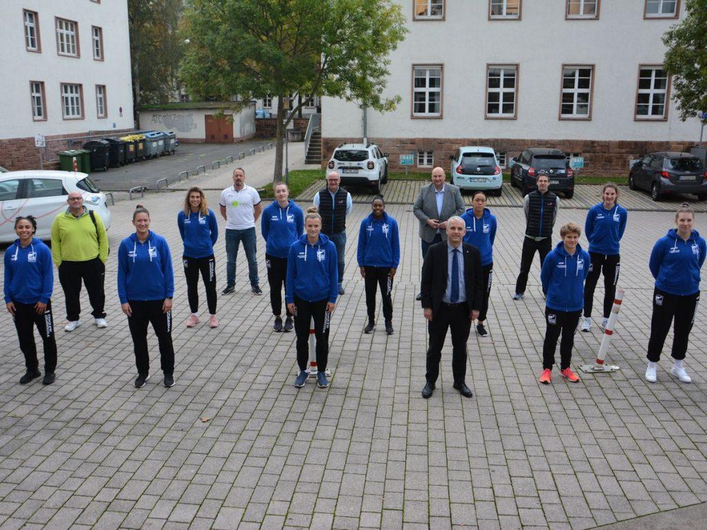 Stadtwerke präsentieren Erstliga-Team